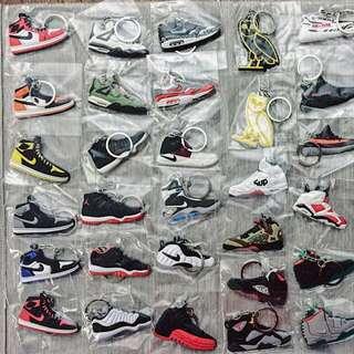 Adidas Nike Yeezy Jordan Ultra Boost NMD KEYCHAINS