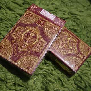 Alexandre Dumas: Three Musketeers Playing Cards