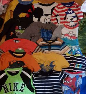 Branded clothing for boys!