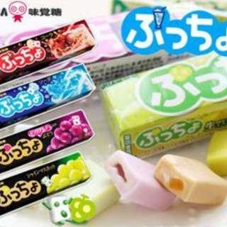 日本代購 味覺噗啾糖