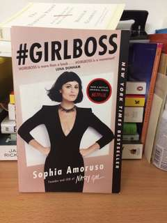 #Girlboss by Sophia amoruso (inc postage)