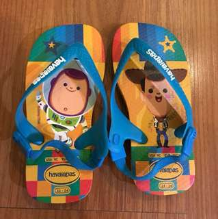 Havaianas sliippers for kids - toy story size 23-24