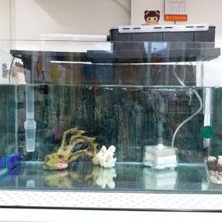玻璃魚缸24寸