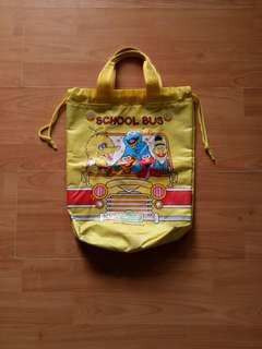 Vintage Tote Bag Sesame Street