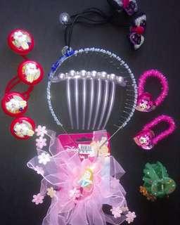 10-pieces hair accessories for children