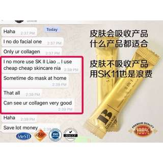 Cheapest collagen in town & result in a week