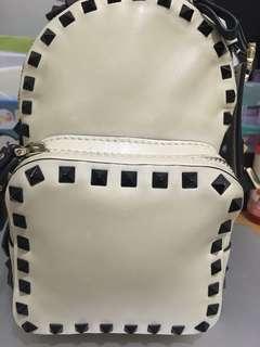 Valentino rockstud mini backpack 小背包