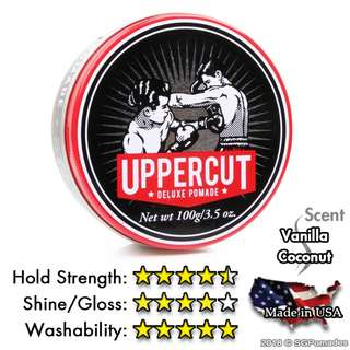 (Free mail) Uppercut Deluxe Pomade