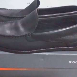 Rockport Black Suede Loafers Shoes