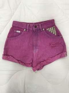 Lee High Waist shorts