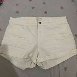 H&M white Short