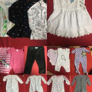 Take all !!!! All branded baby girl clothing .