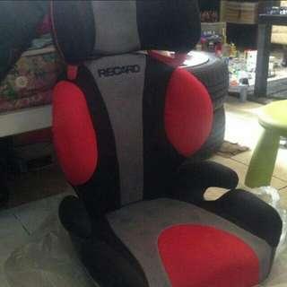 Recaro seat booster