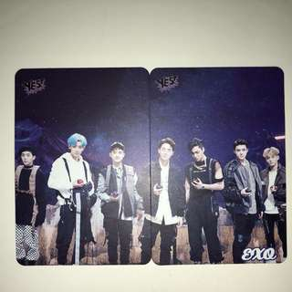 Exo Yes!Card 第26期 白卡