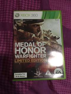 Medal of Honor Warfighter(limited edition)
