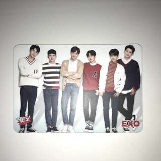 Exo Yes!Card 第31期 白卡