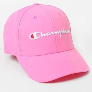 INSTOCK Champion Baseball Logo Cap Pink
