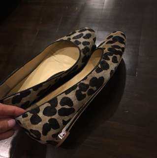 Cole Haan Real Cow Fur Flats