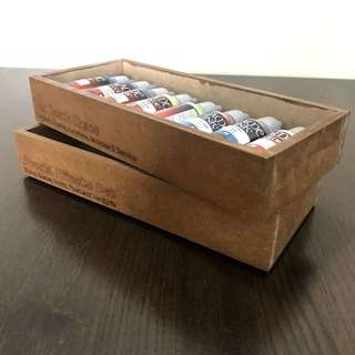 Stackable storage box for Vallejo / AK paint set