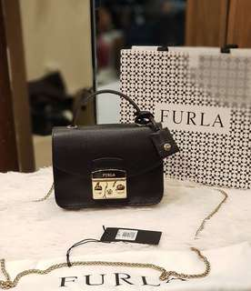 FURLA METROPOLIS MINI WITH HANDLE