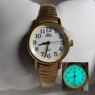 Timex Watch for ladies in full gold