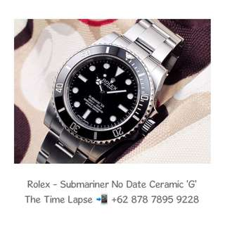 Rolex - Submariner No Date Ceramic 'G'