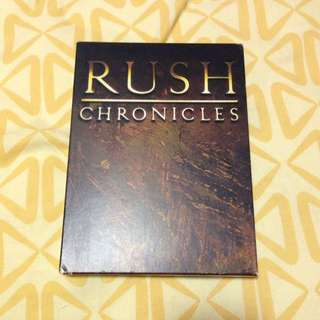 RUSH - CHRONICLES (2CD/1DVD)
