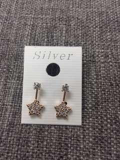 韓國 星星 耳環 Earrings