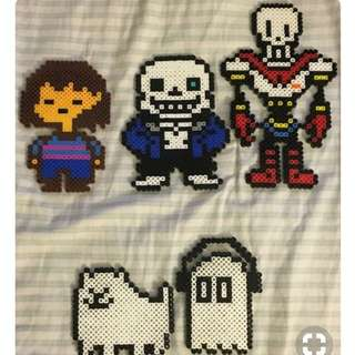 Undertale Hama Bead Designs