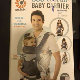 Ergobaby 360 cool air (Carbon Grey)