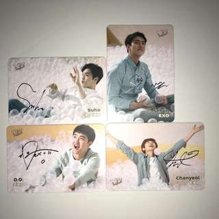 Exo Yes!Card 第17期 銀簽卡