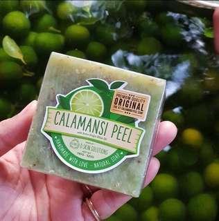 CALAMANSI PEEL SOAP