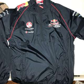 Red bull jacket