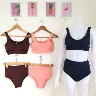 Sport set swimsuit (with pads)