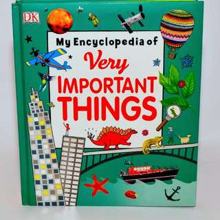 Buku anak import murah / my encyclopedia of very important things /DK Ensiklopedi
