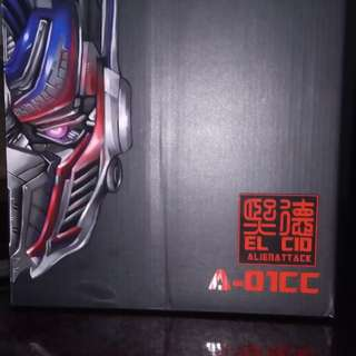 Alien Attack Toys AATOYS, STF-02 Cid, Optimus Prime (Age of Extinction) The Last Knight!