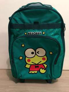 ORIGINAL Sanrio Keroppi Trolley Bag