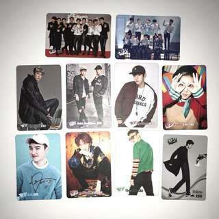 Exo Yes!Card 第11-7期 白卡