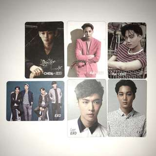 Exo Yes!Card 白卡