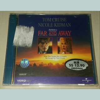 (BNIB) VCD Movie: Far And Away