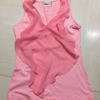 Peach pink top