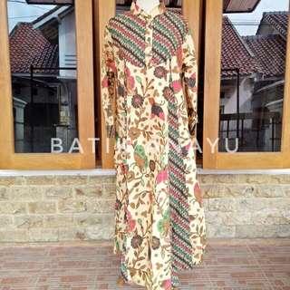 Gamis batik / dress / baju muslim