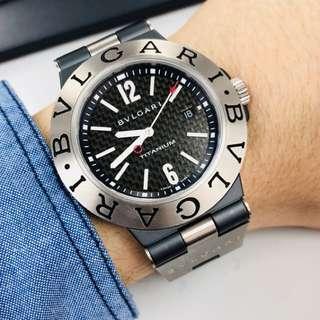 Bvlgari Diagono TI 44TA ,鈦合金自動錶