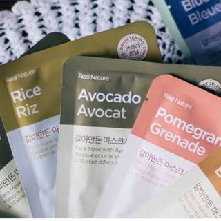 The Face Shop (Real Nature Face Mask Bundle of 10)