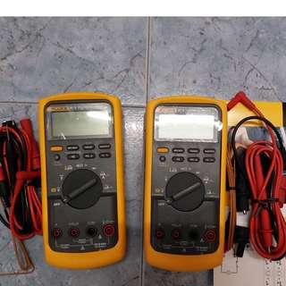 2nos x Fluke 87 series Multi meters for sale