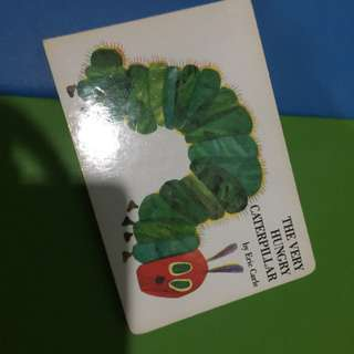 Pre-loved the very hungry caterpillar hard board book