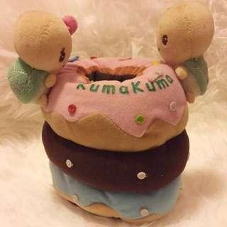 全新kuma kuma 龜 圓筒型廁紙套/雜物筒