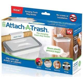 Attach A Trash Hangin Kitchen Trash Bin