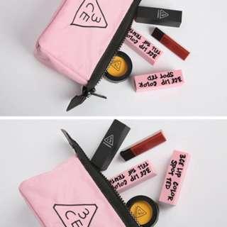 正韓 3ce 化妝包