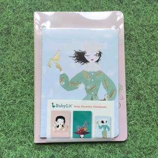 BabyLit Anna Karenina Notebooks set